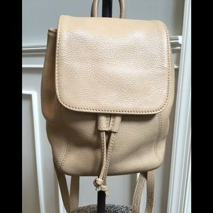 Vintage Coach Sonoma tan pebble leather backpack